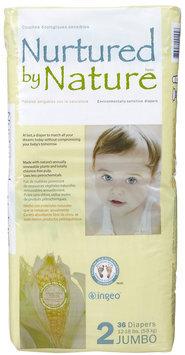 Nurtured By Nature Diapers Jumbo Pack - 36 ct.