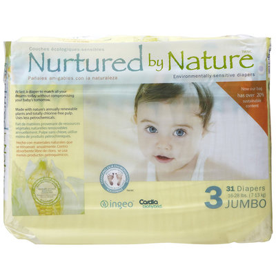 Nurtured by Nature Diapers - 31 ct.