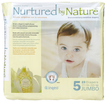 Nurtured By Nature Diapers Jumbo Pack - 23 ct.