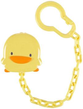 Piyo Piyo Yellow Duck Pacifier Clip