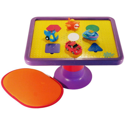 Tubby Table w/ Tubby Buddies Vroom-Vroom Vehicles (inlcudes non-slip bath mat) - 1 ct.