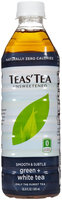 Teas Tea Tea's Tea Green Tea - Unsweetened White - 16.9 oz - 12 ct