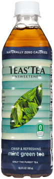 Teas Tea Tea's Tea Green Tea - Unsweetened Mint - 16.9 oz - 12 ct