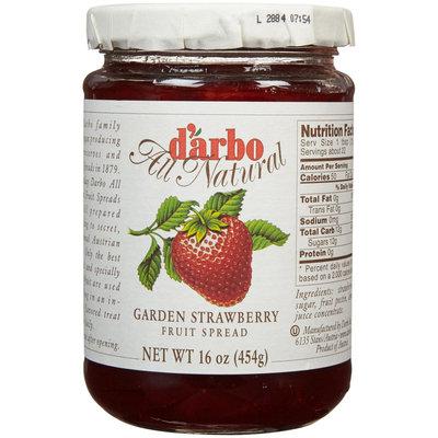 D'arbo Source Atlantique C Fruit Spread Grdn Strwbry 16-Ounce -Pack of 6