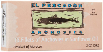 El Pescardo Anchovies in Soy Oil, 2 oz