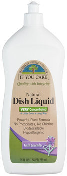 If You Care DISH DETERGENT, LAVENDER, (Pack of 12)
