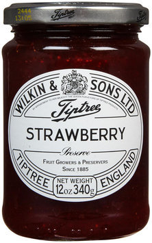 Tiptree Strawberry Preserve 12-Ounce Jars -Pack of 6