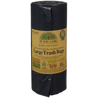 If You Care Trash Bags Large with Handles 30 Gallon - 10 Bags