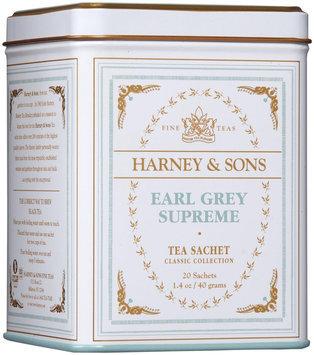 Harney & Sons Classic Earl Grey Supreme Tea, 20 ct