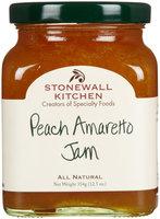 Stonewall Kitchen Jam Peach Amaretto 12.5 oz