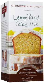 Stonewall Kitchen Pound Cake Mix Lemon 19 oz
