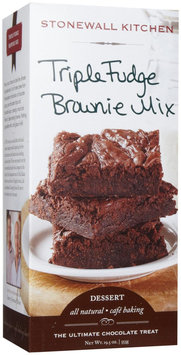 Stonewall Kitchen 19.5-oz. Brownie Mix, Triple Fudge