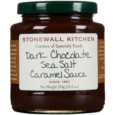 Stonewall Kitchen Dark Chocolate Sea Salt Caramel Sauce, 12.5 oz