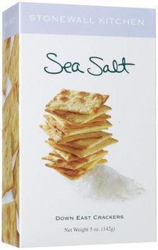 Stonewall Kitchen Sea Salt Crackers, 3 pk