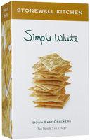 Stonewall Kitchen Simple White Crackers, 5 oz