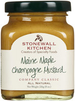 Stonewall Kitchen Maine Maple Champagne Mustard, 8 oz