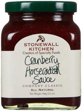 Stonewall Kitchen All Natural Horseradish Sauce Cranberry 12 oz