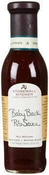 Stonewall Kitchen Sauce Baby Back Rib 11 fl oz