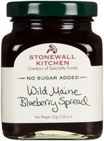 Stonewall Kitchen No Sugar Added Fruit Spread Wild Maine Blueberry 7.25 oz