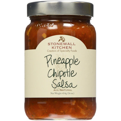 Stonewall Kitchen All Natural Salsa Pineapple Chipotle 16 oz