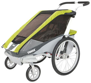 Thule Chariot Cougar 2 Stroller with Strolling Kit