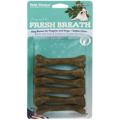 Vets Choice Health Extension Fresh Breath Bones