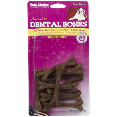 Vets Choice Dental Bones - Liver