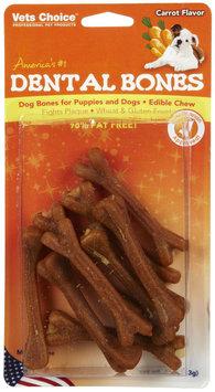 Vets Choice Health Extension Dental Bones - Carrot - 3pk