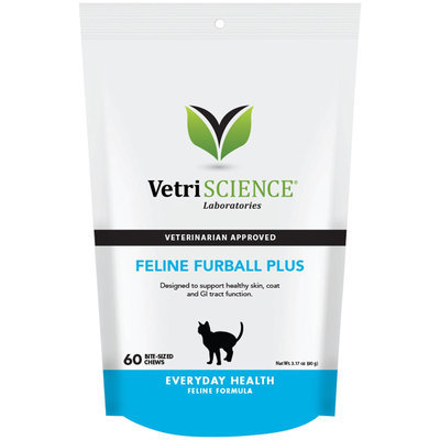 Vetri-Science Laboratories Feline Furball Plus Bite Sized Chews