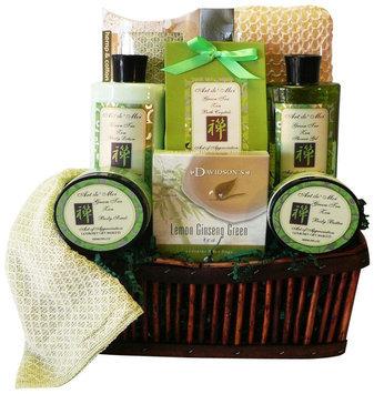 Art of Appreciation Gift Baskets Green Tea Zen Spa Bath and Body Gi.