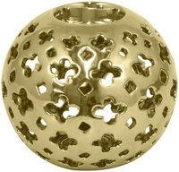 Three Hands Pierced Votive Holder, Gold