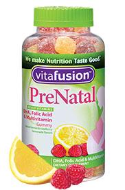 vitafusion™ PreNatal gummies