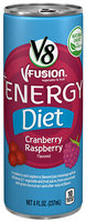 V8® V-Fusion Diet Cranberry Raspberry Energy Drink
