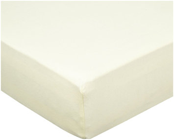 Luvable Friends Fitted Crib Sheet Yellow - 1 ct.