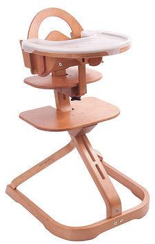 Svan Signet Complete Wooden High Chair - Cherry