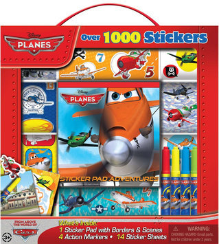 Artistic Studios Disney Planes Sticker Box with Handle Activity Set