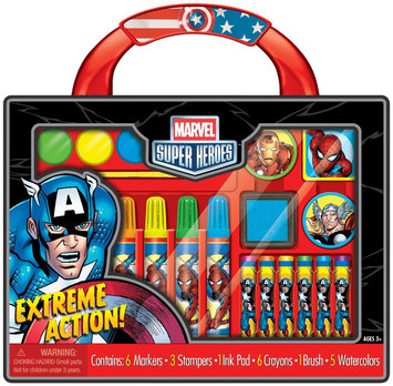 Artistic Studios Disney Marvel Super Heroes Take-Along Art Case Activity Set