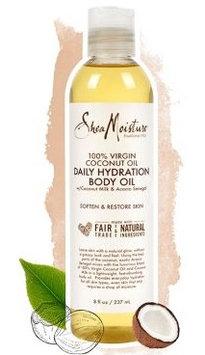SheaMoisture 100% Virgin Coconut Oil Daily Hydration Body Oil