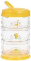 Innobaby Stackable Storage Container - Packin' SMART - 3 Tier - Orange