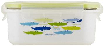 InnoBaby Keepin' Fresh Stainless Bento - Save The Planet Alligator (Green)