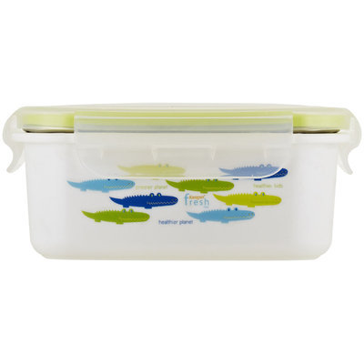 InnoBaby Keepin' Fresh Stainless Bento - Save The Planet Alligator (Green)
