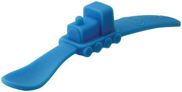 Oogaa Baby Train Spoon in Blue