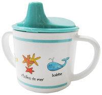 Baby Cie Sippy Cup - Ocean Animals - Aqua - 8 oz - 1 ct.