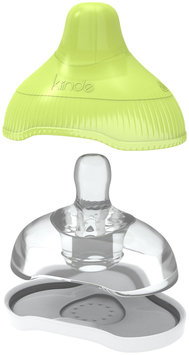 Kiinde Twist Active-Latch Nipple with Case (Fast Flow) - 2-pack