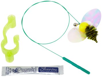 VitaKraft Purrk Playfuls Stimulating Cat Toy - Busy Bee Door Dangler: