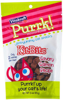 VitaKraft Purrk Munchies KitBits Cat Treats - Savory Salmon Recipe: 3