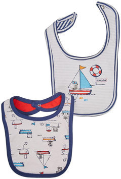 Absorba Little Sailor Bib Set - Multi - 1 ct.