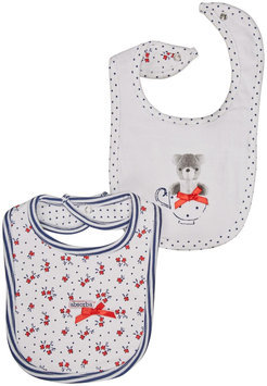 Absorba Tea Party Bib Set - Mulit - 1 ct.