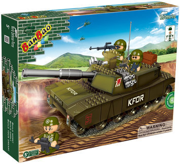 BanBao FV 9876 Tank(120 pcs) - 1 ct.