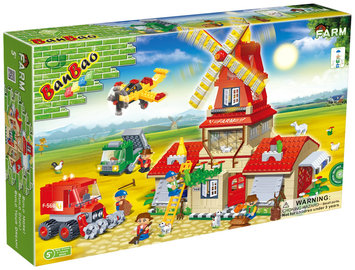 BanBao Wheat Farm( 860 pcs) - 1 ct.